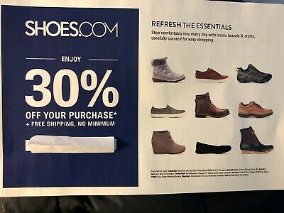 SHOES.COM 30% Off Purchase + FreeShipping Exp 3/15/19 FreeDelivery By Email