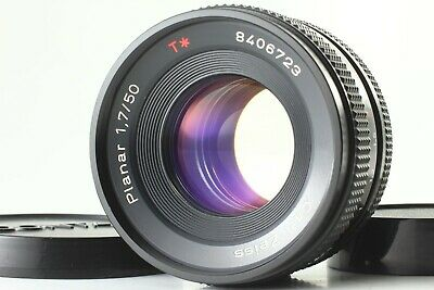 【 EXCELLENT+++++ 】 Contax Carl Zeiss Planar T* 50mm f/1.7 MMJ MF Lens from JAPAN