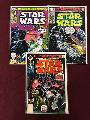 3 Comics Lot Marvel Comics Group Star Wars 4, 23, 48