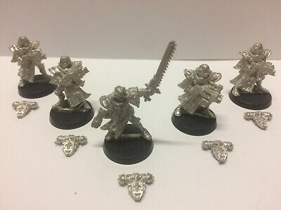 Adepta Sororitas x5 Sisters of Battle Squad Metal Warhammer 40K