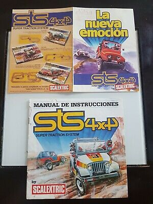 Lote catalogos sts scalextric exin slot