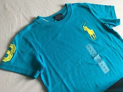 POLO Ralph Lauren BOYS T-Shirt - 5 yrs - NEW - RRP £30 from outlet