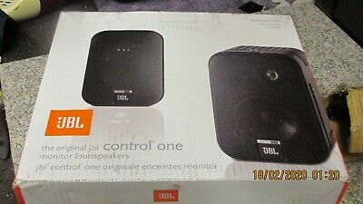JBL Control One Main / Stereo Speakers Pair Powerful/Loud