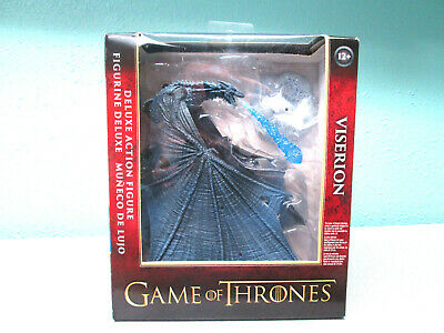 HBO GAME OF THRONES DELUXE ACTION FIGURE VISERION ICE DRAGON McFARLANE TOYS
