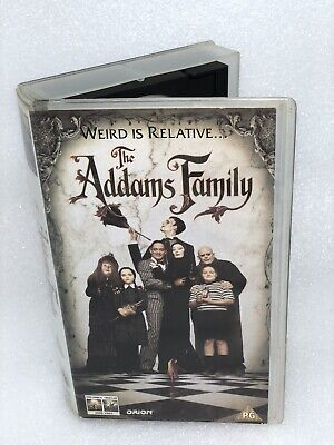 The Addams Family (1991) - VHS Tape Tested Raul Julia, Christopher Lloyd,