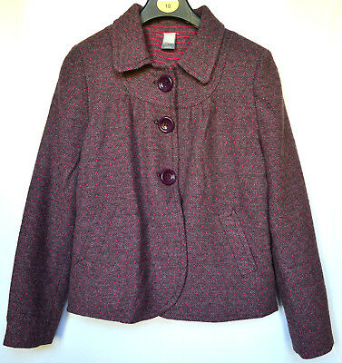 ZARA wool smart jacket GIRLS size 13-14 years very good condition