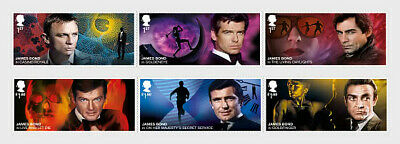 GREAT BRITIAN 2020 James Bond - Set PRE ORDER issue 17-3-'20