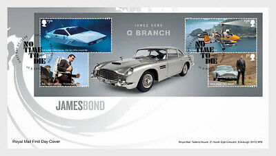 GREAT BRITIAN 2020 James Bond FDC SHEET PRE ORDER issue 17-3-'20