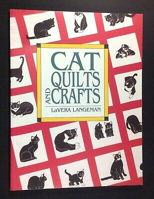 Cat Quilts and Crafts SC Book LaVera Langeman Christmas Stocking