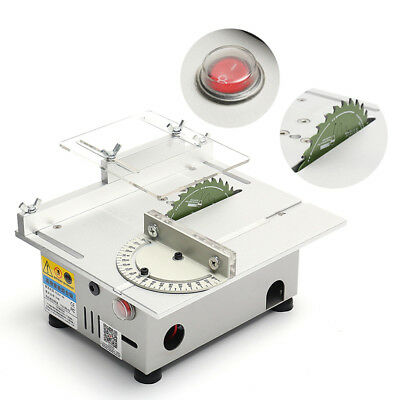 Portable Precision Bench Top Cutting Machine Small Table Saw Woodworking
