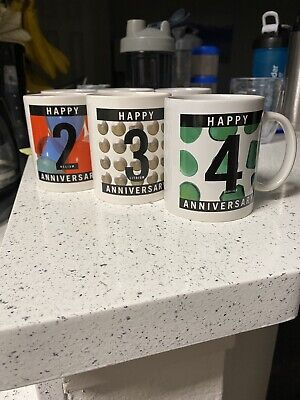 American chemical Society Anniversary Mugs