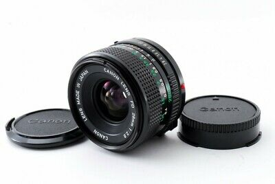 Canon New FD 28mm F/2.8 35mm SLR MF Wide angle Lens [Exc+] #550128A