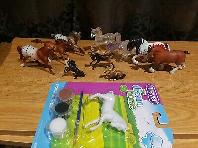 Breyer And Royal Breeds Stablemate And Mini Whinnies Lot