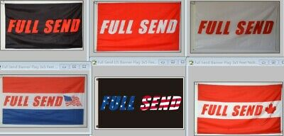 Full Send Banner Flag Nelk Nelkboys for The Boys 3X5FT Banner