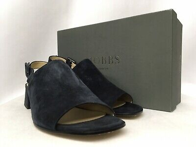 Hobbs Daisy Fine Suede Navy Slip on Shoes RRP £139. Various Sizes