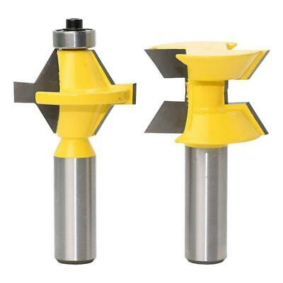 Blesiya Round Over Edge Forming Router Bit 1//4/'/' Shank x 38.1mm Cutter