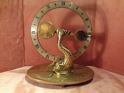 Fantastic Mystery Dent & Co. Highly Decorative Rotation Clock Ca 1977
