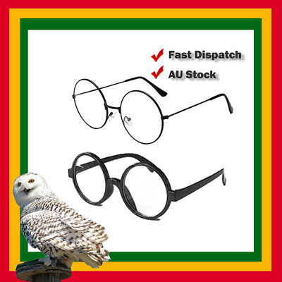 Harry Potter Where's Wally Round Glasses Costume Accessory Nerd