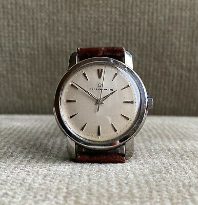 1960s  Eterna-matic  Centenaire - vintage watch automatic 1959 Kal.1429U