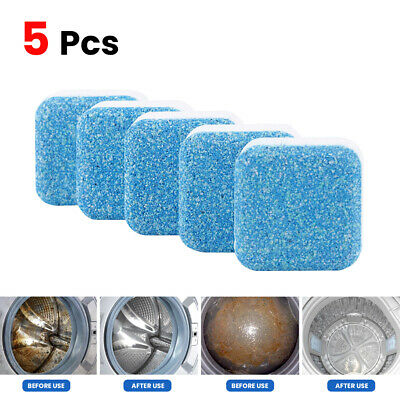 5x Washing Machine Tank Cleaner Cleaning Descaling Effervescent Tablet Detergent