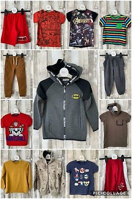 Boys Casual Clothing Bundle Next, M&S Etc. Age 4-5 Years