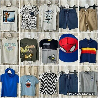 Boys Casual Clothing Bundle Next, GAP Etc. Age 6-7 Years