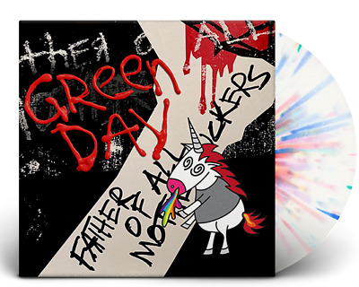 Green Day Father Of All Limited Edition rainbow coloured Vinyl LP new Album 2020