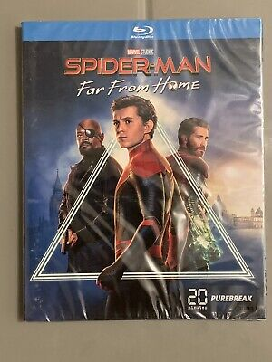 BLU RAY SPIDER-MAN FAR FROM HOME (Neuf Sous Blister)