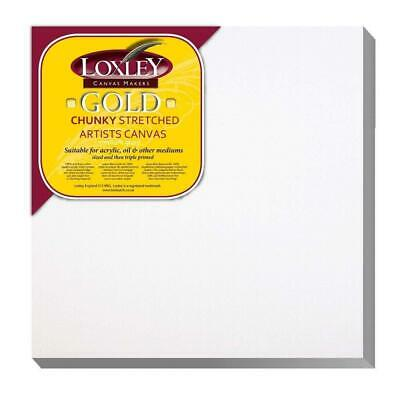 Loxley Gold Chunky 100% Cotton Canvas - Triple Primed