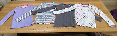 Girls M&S Long Sleeved Thermal Tops/ Ski Base Layers, 11-12 Years