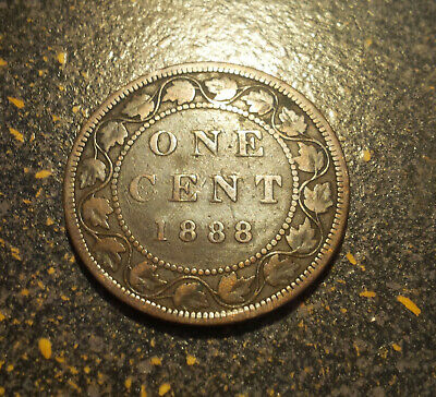 1888 Canada Large Cent - P1888-16
