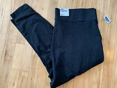 Womens Plus Size 3x Old Navy Leggings Black NWT Bottoms Stylish Comfy Legging