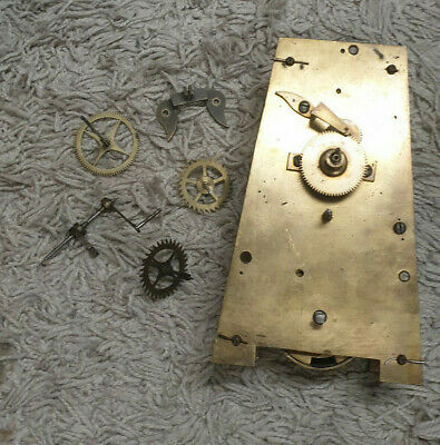 Old Fusee Tavern Clock Style Movement Project,No Reserve!