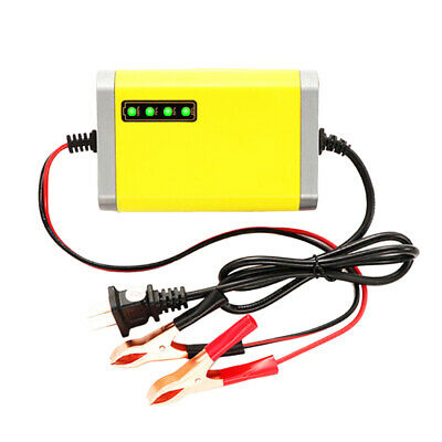 Car Motorcycle Battery Charger 12V 2A Full Automatic Smart Power Charger V4X7