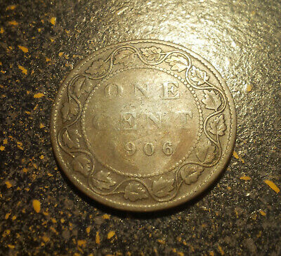 1906 Canada Large Cent - P1906-17