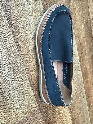 Clarks Mens Suede Boat Shoe Size 9