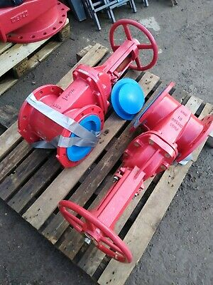 Fire Protection Gate Valves c/w Hand wheel DN200 PN16 BS5163