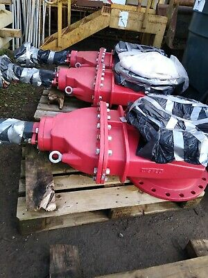 DN450 PN16 BS5163 Fire Protection Gate Valves c/w Hand wheel