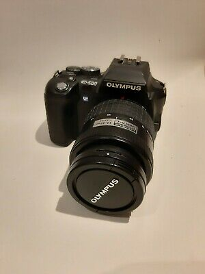 Olympus EVOLT E-500 8,0 MP Digitalkamera - Schwarz (Kit mit 14-45mm f/3.5-5.6 u…