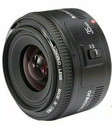 Yongnuo YN35mm EF 35mm F/2 Wide-angle Auto Focus Lens for Canon Rebel Camera EOS