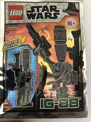 Lego Star Wars IG-88 Mini Figure Polybag