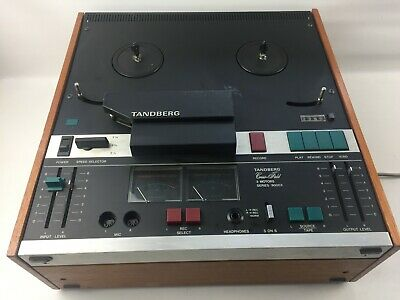 Vintage TANDBERG Model 9000X Reel to Reel Tape Player Recorder, TESTED 9041 X