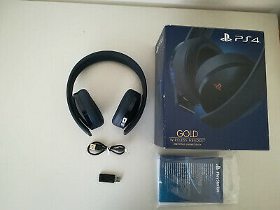 🎧 Cuffie Sony Gold 500 Million Limited Edition - Wireless PS4 PlayStation 4 🎧