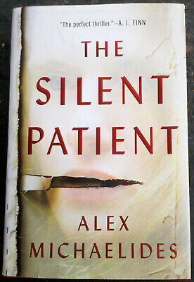 The Silent Patient - Alex Michaelides hard cover fiction book, nice condition
