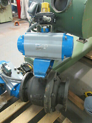 """Jamesbury Electronic 316 Stainless 285 Max Psi Ball Valve W/8 Bolt 11""""Cast Flang"""