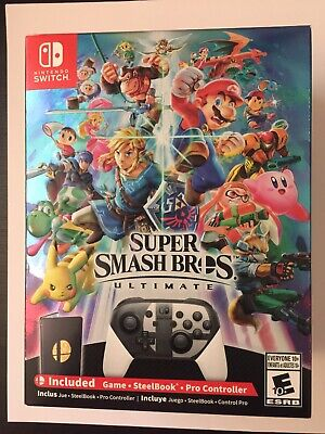 Super Smash Bros. Ultimate Limited Special Edition (Nintendo Switch, 2018) NEW