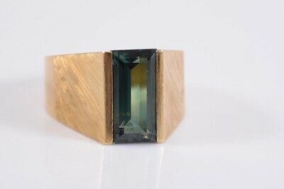 i79l11- 750er/ 18kt Gold Ring mit Spinell