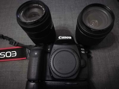 Canon EOS 90D 32.5MP Digital SLR Camera- With two lenses