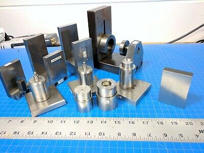 Lot Inspection Setup Block Plate Ring Angle Precision Gage Gauge Machinist