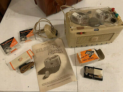 Midcentury Geloso G225-s tape recorder Audio Accessories Vintage Lot Cassette
